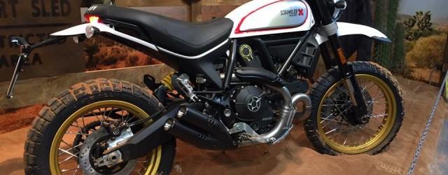 Ducati visade upp flera nyheter på MC-mässan i Milano. Bland annat detta nytillskott i Scramblerfamiljen. Desert Sled kallas den för. 803 kubik och 75 hästar är något av det du […]