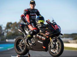 Tito Rabat i sitt nya team i SBK, Barni Racing Team.